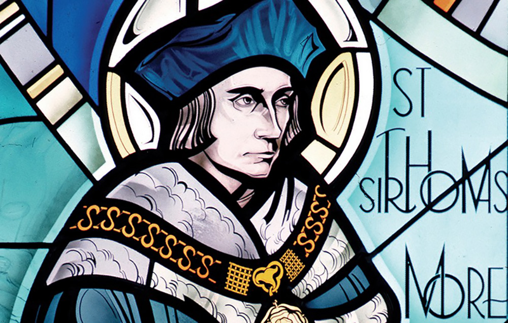 St. Thomas More: A Saint for Adopted Children and Widowers