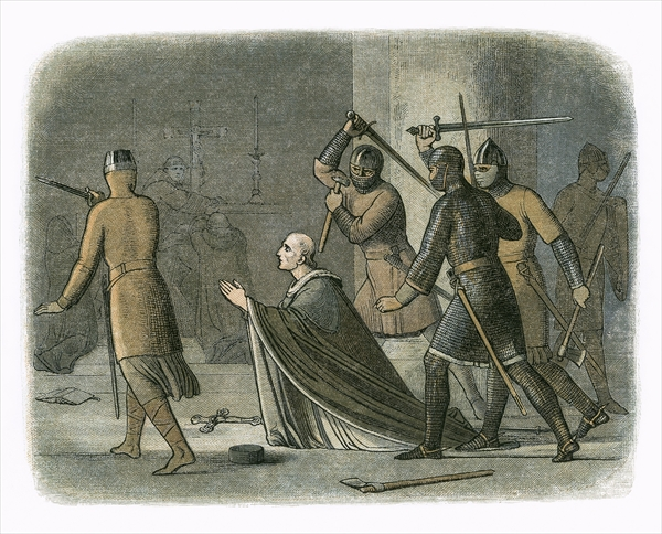 The Martyrdom of St. Thomas Becket
