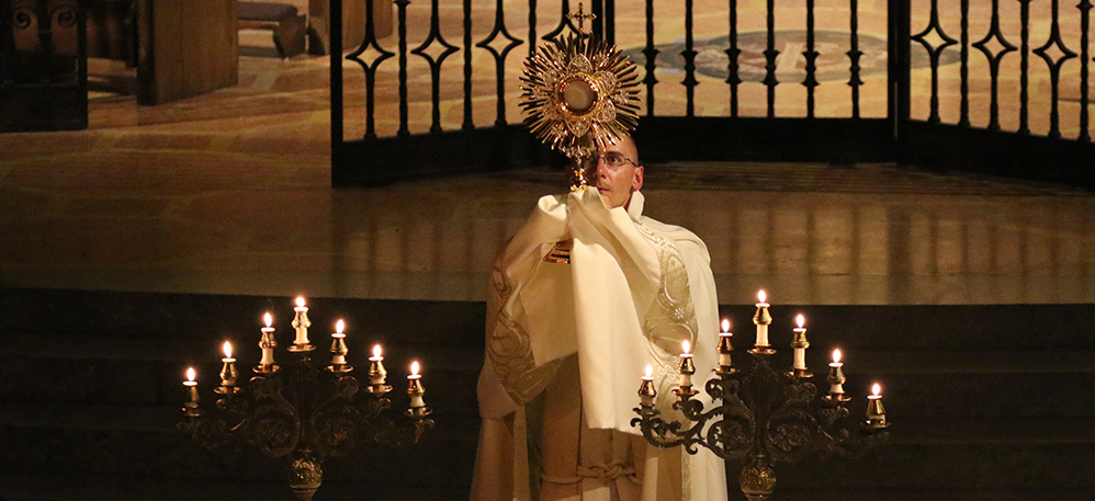 Is Adoration Different Than Prayer Before a Tabernacle?