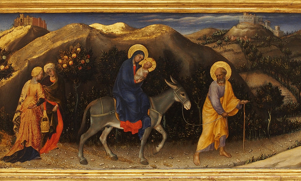 Christmas and the Flight Into Egypt