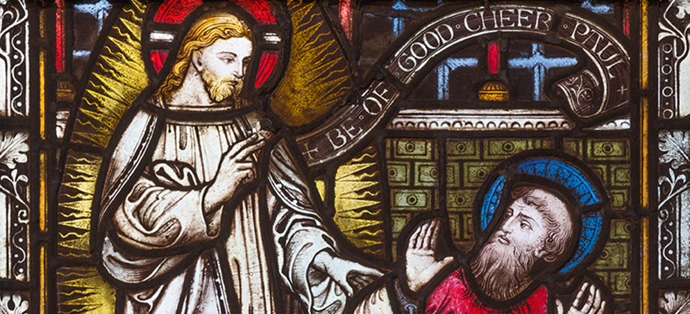 From persecutor to Christian: The conversion of St. Paul
