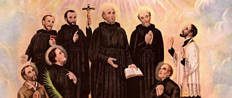 Who are the North American Martyrs?