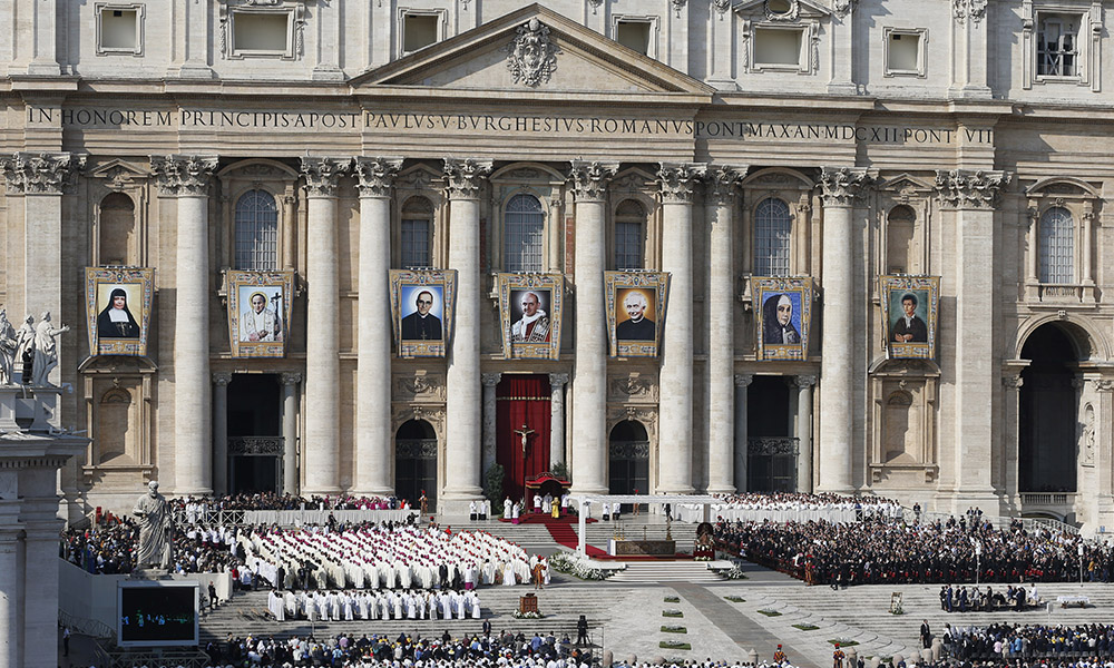 What Happens At A Canonization?