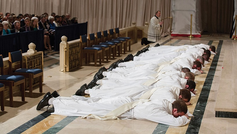 Priestly Ordination Reserved For Men
